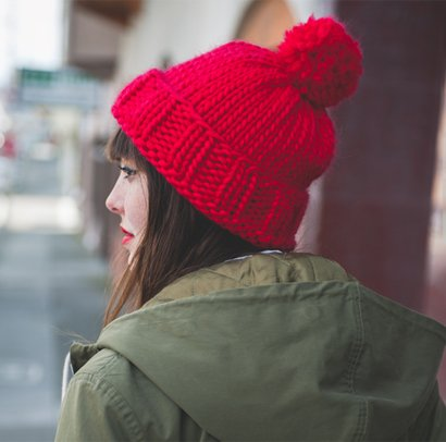 Big Stitch Knitting Patterns : The Big Hat - Sheep and Stitch