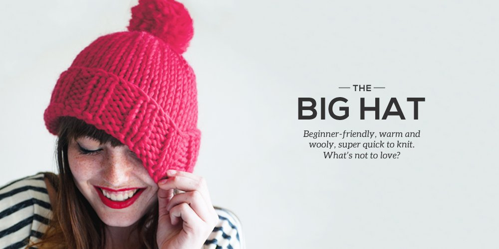 How to Knit a Big Hat - Sheep and Stitch 85632a806