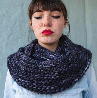 Cushy Cowl Knitting Pattern