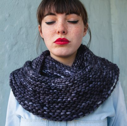 Knitting Pattern Cowl Scarf : The Cushy Cowl - Sheep and Stitch