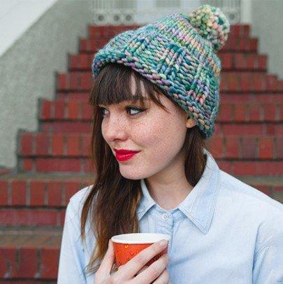 big hat knitting pattern malabrigo rasta