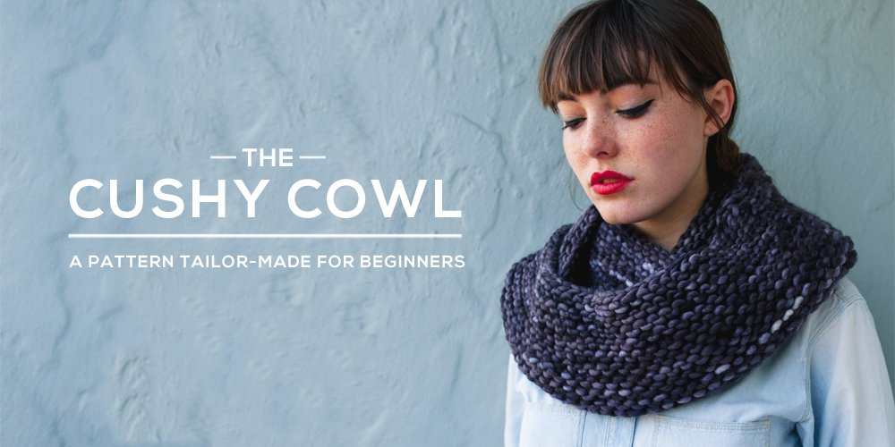 Cushy Cowl Knitting Pattern - Sheep & Stitch