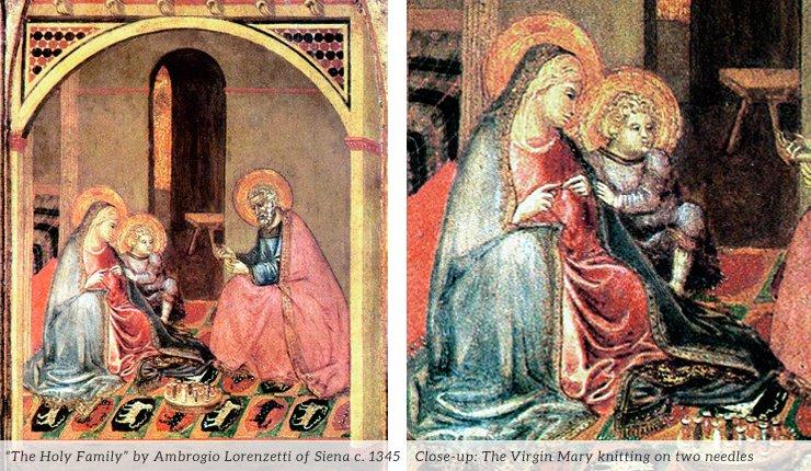 Lorenzetti Knitting Madonna