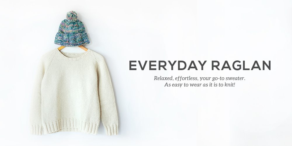 How To Knit The Everyday Raglan Sheep And Stitch