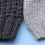 Coming Up: Textured Slouchy Beanie