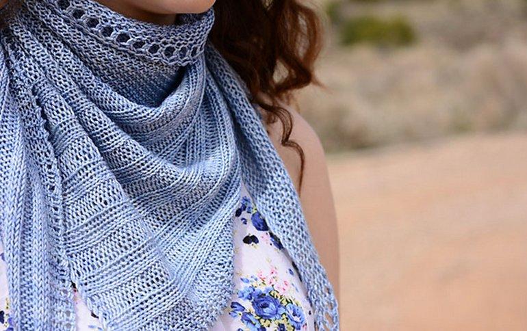 crave yarn shawl