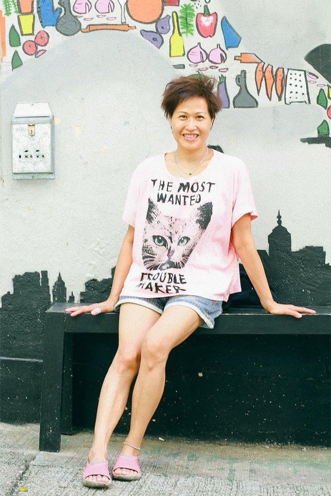 Esther Poon Yarn Bomber Hong Kong