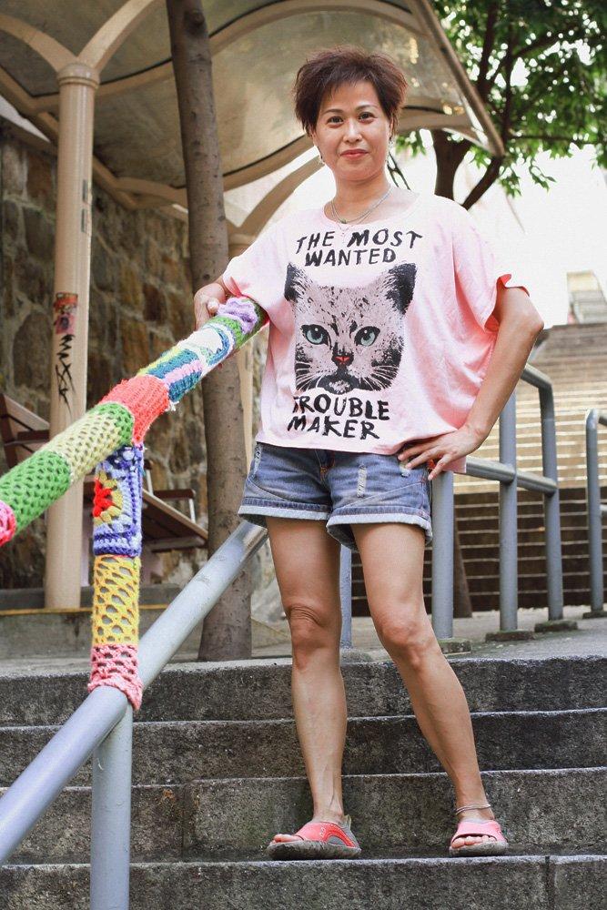 The crochet crusader revealed: Esther Poon, Hong Kong's yarn bomber