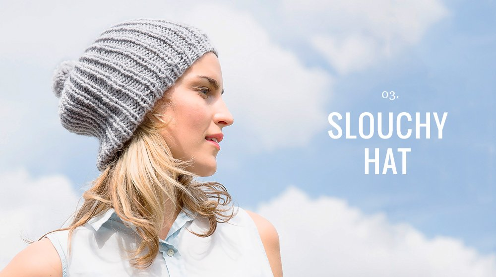 slouchy knit hat skillshare