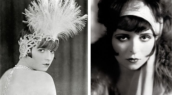 louise brooks clara bow
