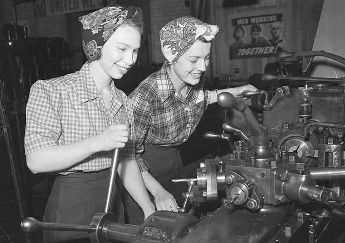 women working in wwii