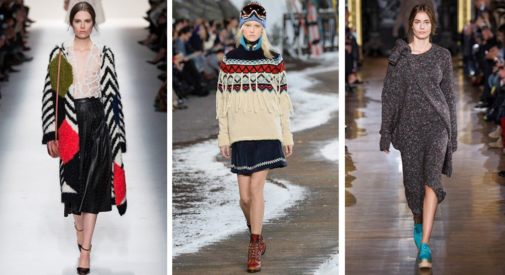 Fall Knitwear Trends 2014