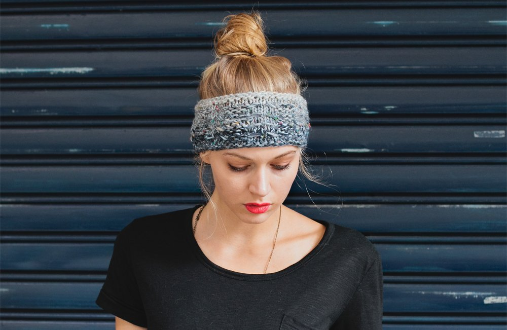 Chunky Headband Free Knitting Pattern
