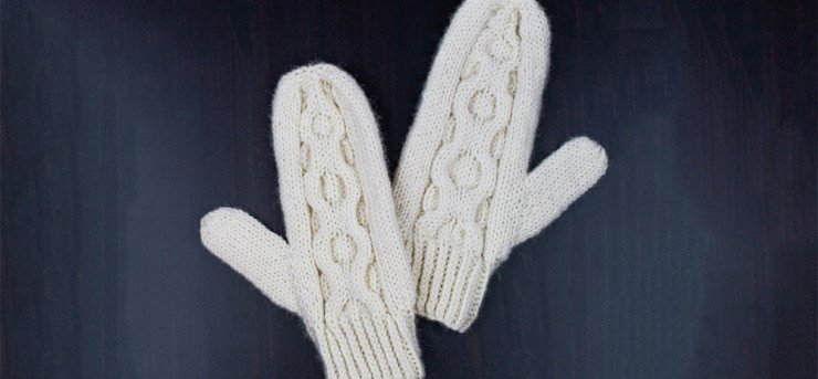 medallion mittens free knitting pattern