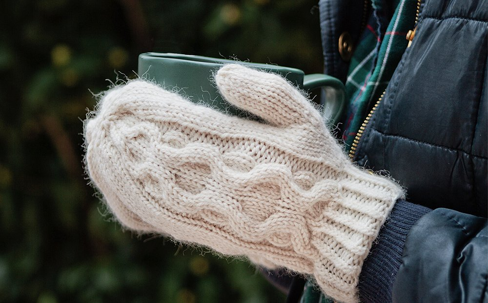 medallion-mittens-knitting-pattern