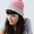 tweed winter set knitting kit