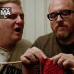 Knitting on TV: Louie