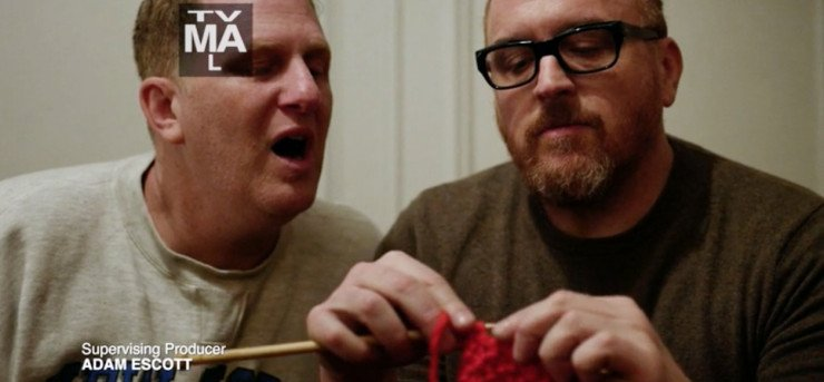 louis ck knitting