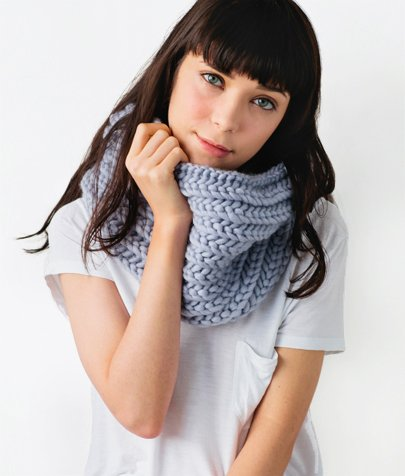 super snood knitting pattern