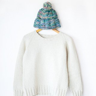 everyday raglan knitting pattern
