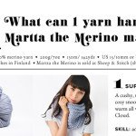 What Can 1 Skein of Martta the Merino Make?
