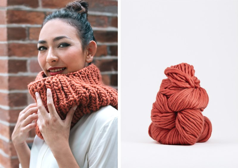 Chunky-Knit-Scarf-Terracotta