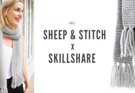 Garter Stitch Scarf Skillshare
