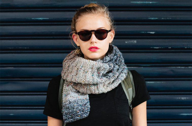 Chunky Knit Scarf Knitting Pattern