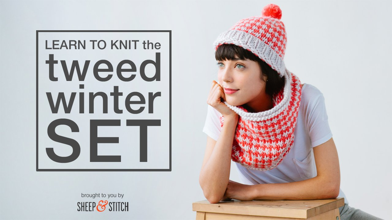 Tweed Winter Set