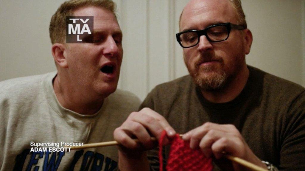louis ck knitting