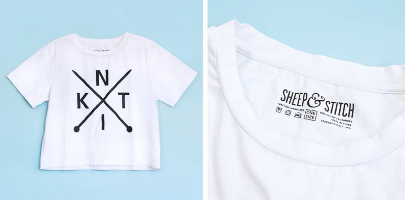 KNIT tee by sheep and stitch