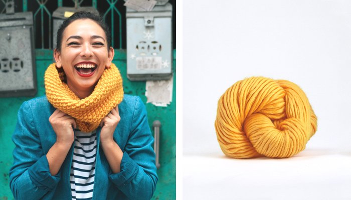 Just one skein of Martta the Merino is used to make this cowl!