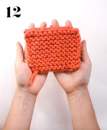 cast off knitting tutorial