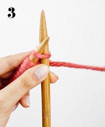 knit stitch tutorial step by step