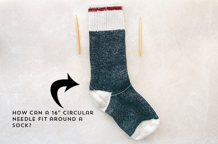 how to knit socks with dpns
