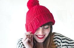 chunky hat pattern free