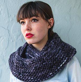 infinity scarf pattern beginner