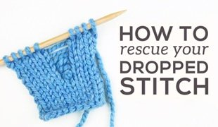 how to fix dropped stitch