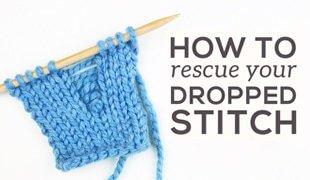 how to fix dropped stitch