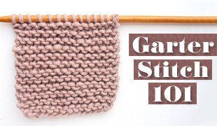 garter stitch knitting