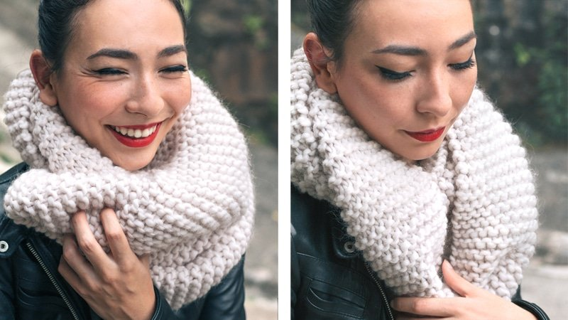 knit a scarf beginners