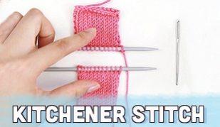 kitchener stitch seaming