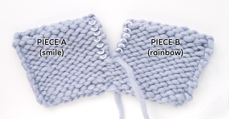 how to seam purl stitches