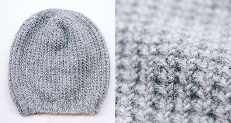 slouchy knit hat free pattern