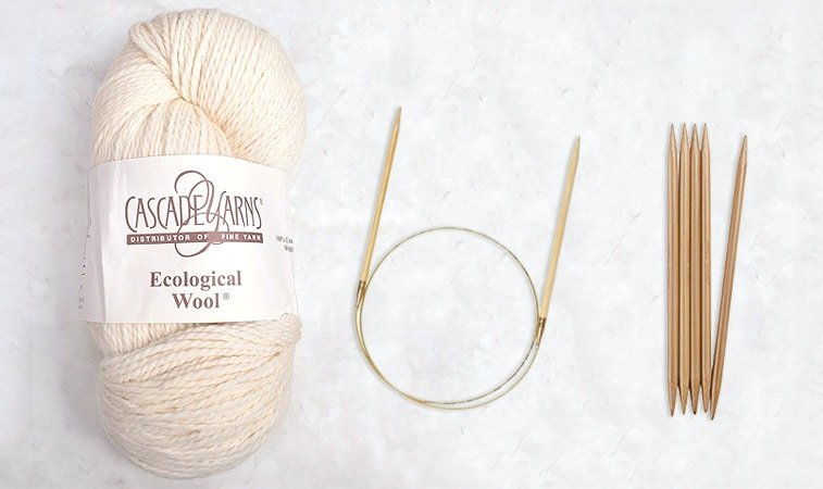 everyday raglan yarn and needles