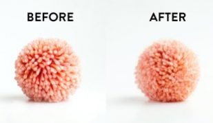 how to fuzzy pom poms