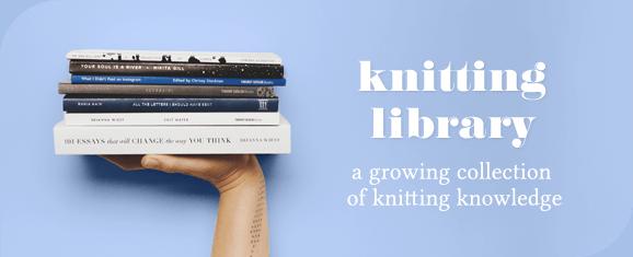 knitting library sheep and stitch