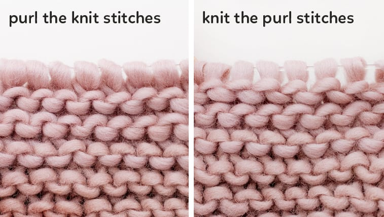 Garter Stitch Knitting for Beginners - Sheep and Stitch