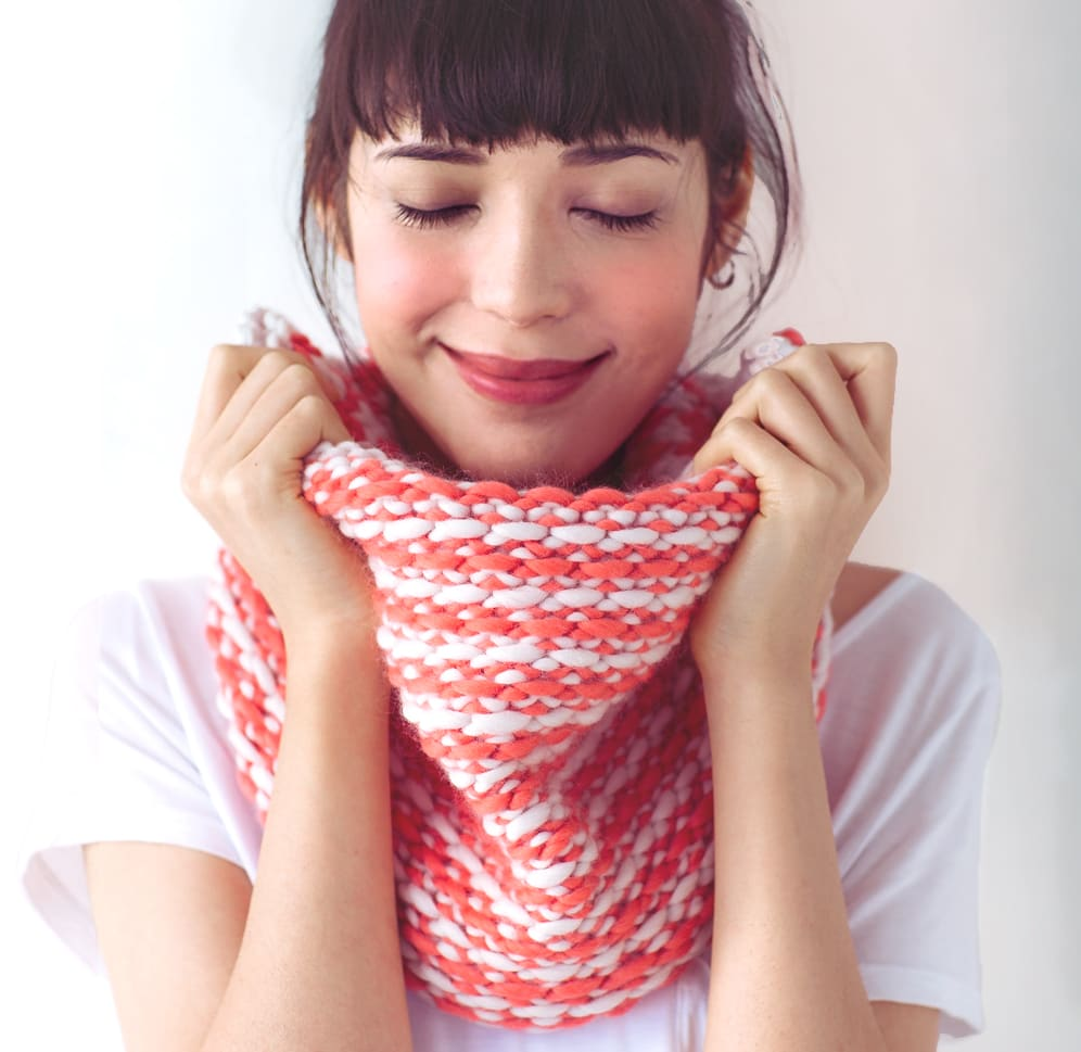 chunky cowl and hat pattern