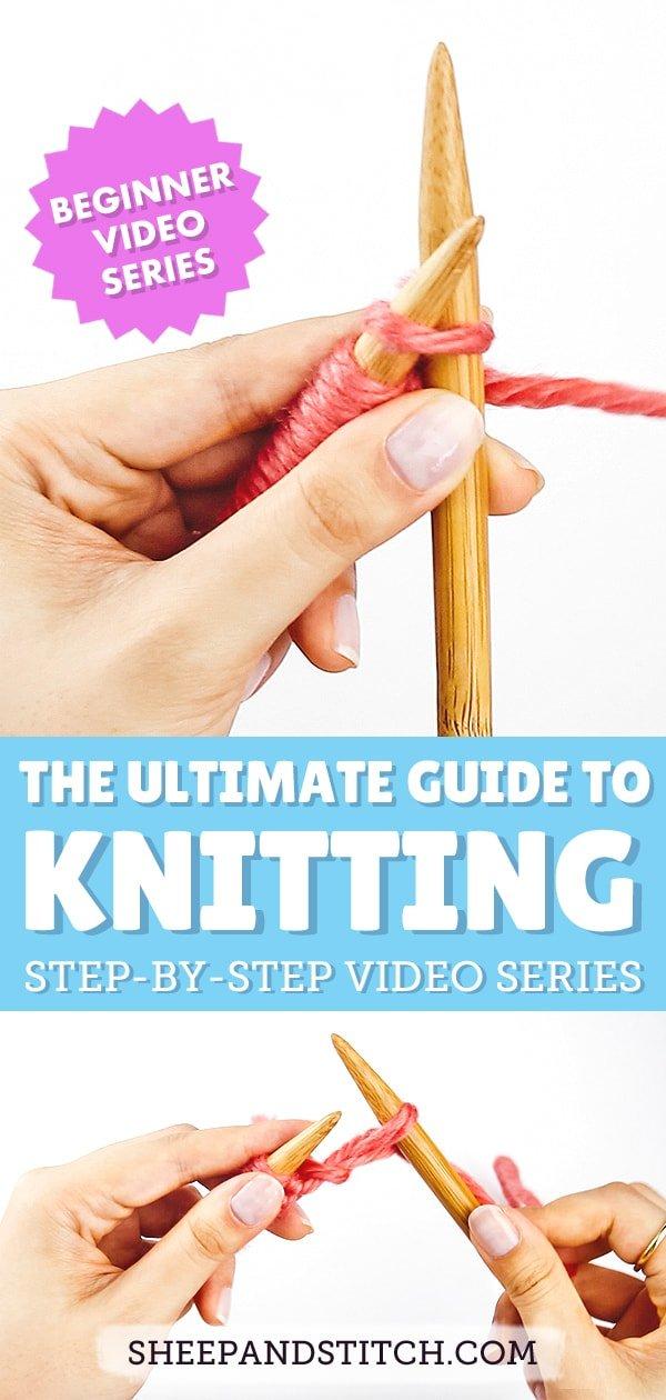 knitting on bamboo needles